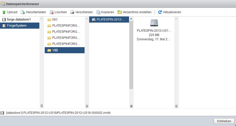 Installieren von VMware-Aktualisierungen (VIB-Dateien