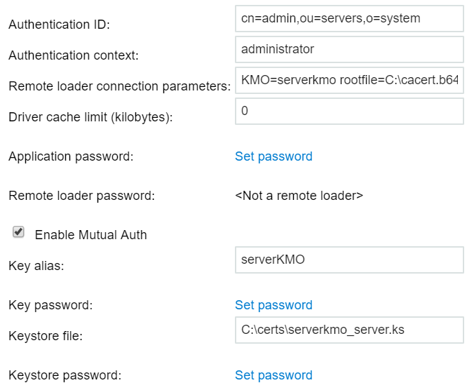 Configuring the Remote Loader and Drivers - NetIQ Identity