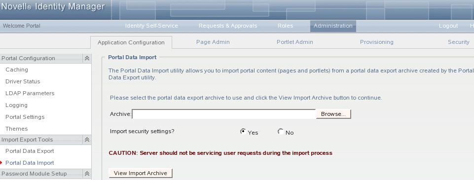 Novell Doc: Identity Manager Resource Kit 1 2 Installation