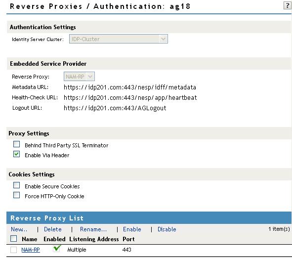 NetIQ Documentation: NetIQ Access Manager Appliance 4 0 SP1 Access
