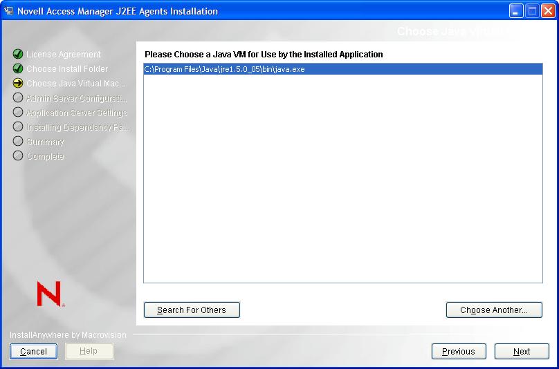 java machine install