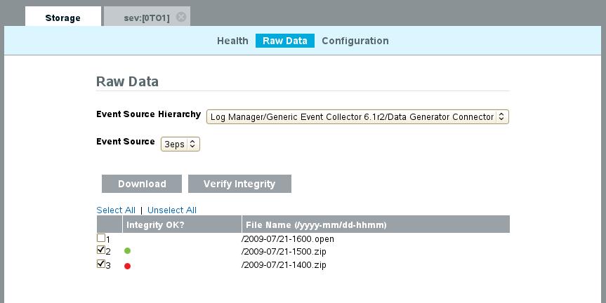 NetIQ Documentation: Sentinel Log Manager 1 0 Guide - Verifying and
