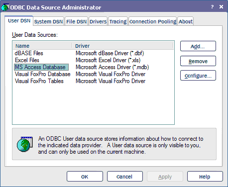 Configuring the ODBC Driver - Operations Center SQL Views Guide