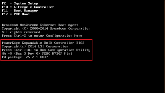 Configuring the RAID for Dell PowerEdge R730xd and Earlier