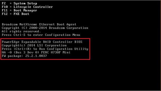 Dell Bios Screen