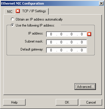 ip settings linux