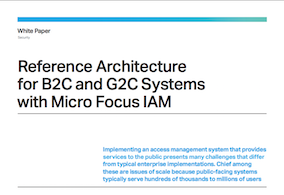 How big should your B2C IAM Environment be?| Micro Focus
