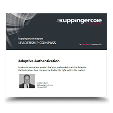 KuppingerCole Report: Leadership Compass, Adaptive Authentication